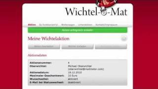 Online-Wichteln mit dem Wichtel-o-Mat