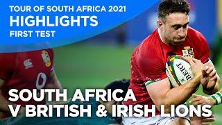South Africa v British & Irish Lions - First Test   Highlights   2021
