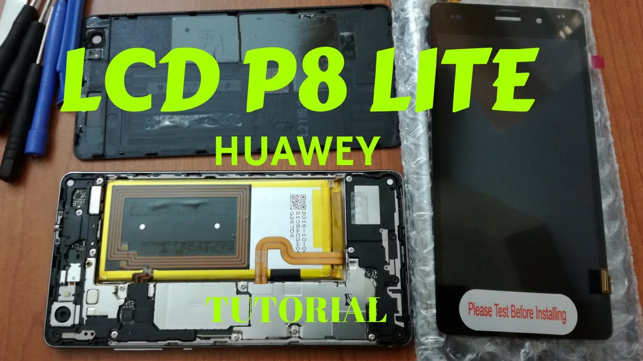Schemi Elettrici Huawei : Huawei p8 lite sostituzione display lcd youtube