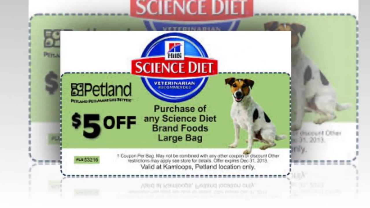 Science Diet Coupons | Hills Science Diet Coupons - YouTube