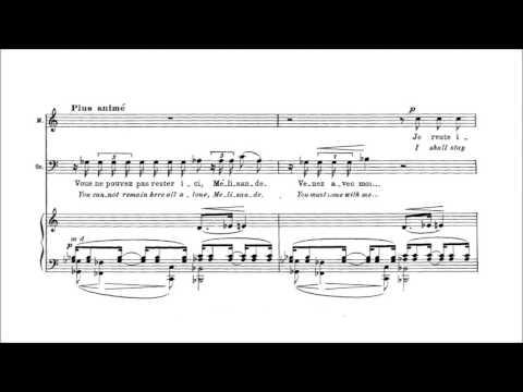 Claude Debussy - Pelléas et Mélisande [With score]