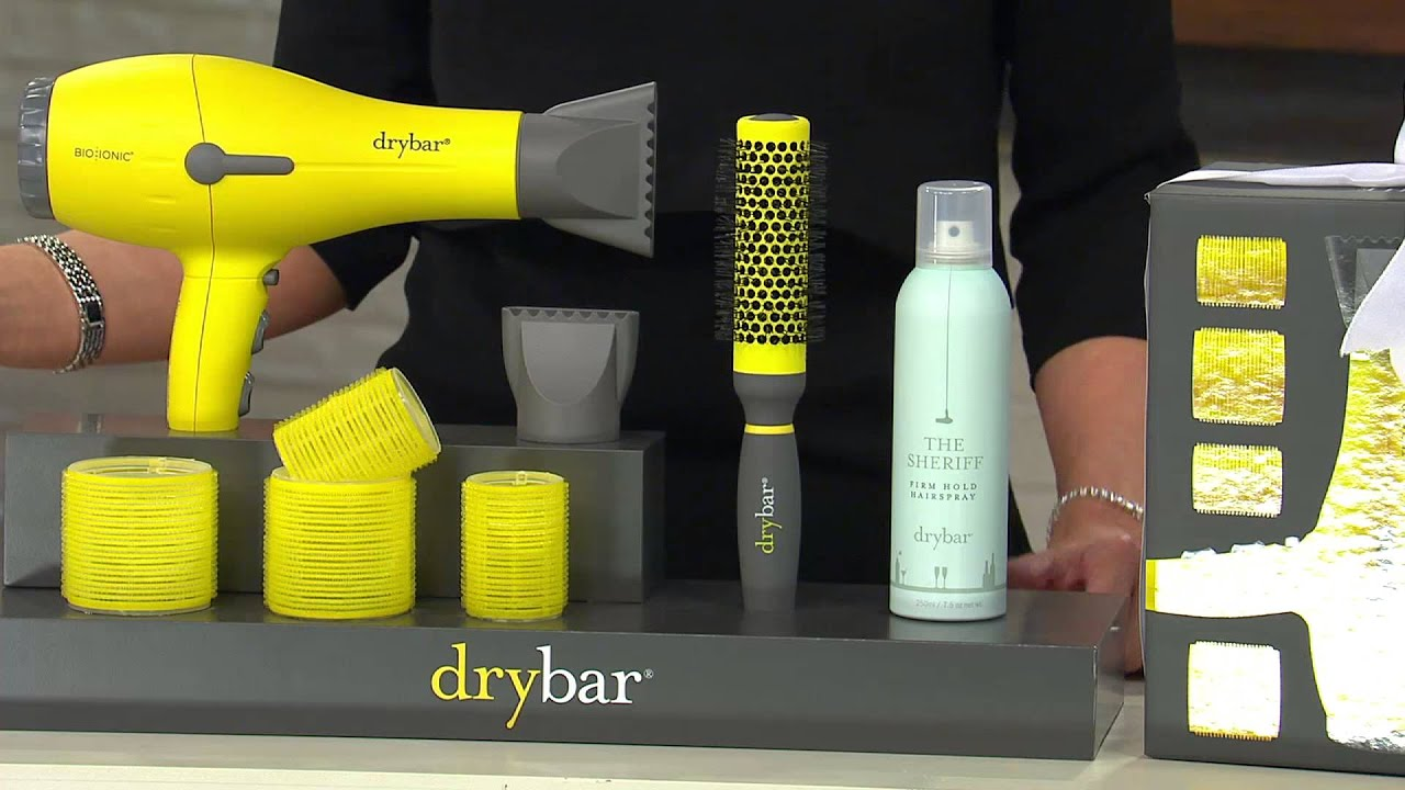 Drybar Buttercup Hair Dryer Perfect Blowout Collection with Shawn