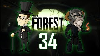 THE FOREST #34 : The Dance Off Battle - Brits vs. Cannibals
