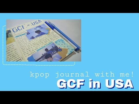 Kpop Journal With Me! GCF In USA