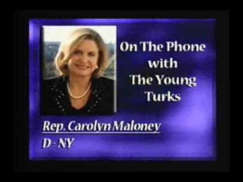 Rep. Carolyn Maloney Enters Rebel HQ