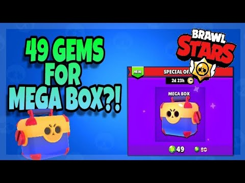 Mega box DISCOUNT!? IT'S WORTH IT? 💸Brawl Stars Malaysia🇲🇾