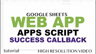 Web App - Search a Match in Spreadsheet - Google Apps Script Web App Tutorial - Part 5