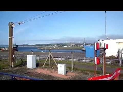 Ardrossan Harbour Station, North Ayrshire, Scotland