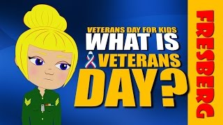 What is Veterans Day? What is Armistice Day? What is Memorial Day? Learn with our video for kids!