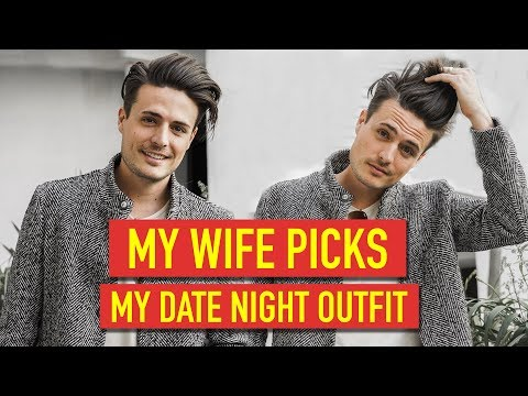 My Wife Picks My Date Night Outfit   Mens Fashion Haul 2019