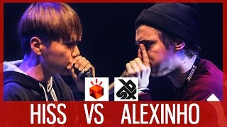 HISS vs ALEXINHO  |  Grand Beatbox SHOWCASE Battle 2017  |  SEMI FINAL