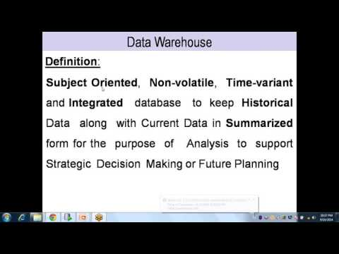 Data Warehouse, Data Mart, Staging DB, ODS, ER Model and Dimensional Model b