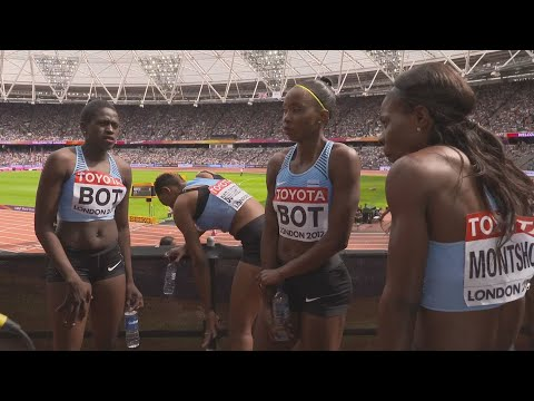 WCH 2017 London –Team Botswana 4X400 Metres relay Heat 1
