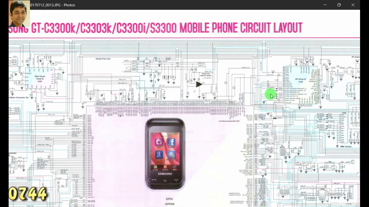 Mobile Circuit Diagram | How To Read Mobile Phone Schematic Diagram Lesson 1 Youtube