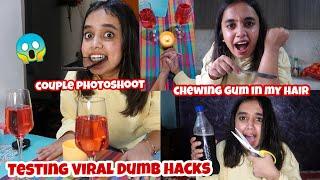 Testing Viral Dumb hacks from 5 minute crafts*shocked* |gopsvlog