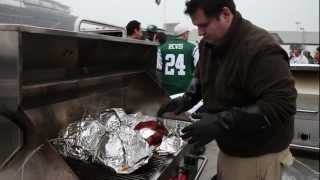 Grilled Spiral Ham At The Tailgate