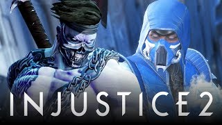 "Injustice 2: New ""Killer Instinct"" Diss & Sub-Zero ""UMK3 Ninja Shaders"" Easter Eggs & References!"