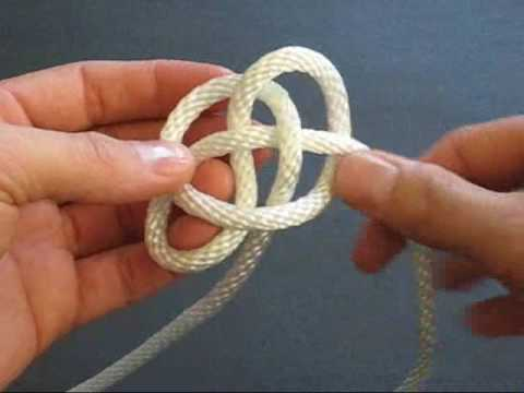 How to Tie a Button Knot Lanyard by TIAT  YouTube