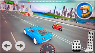 Car vs Bike Racing Game - Race Game Android Gameplay