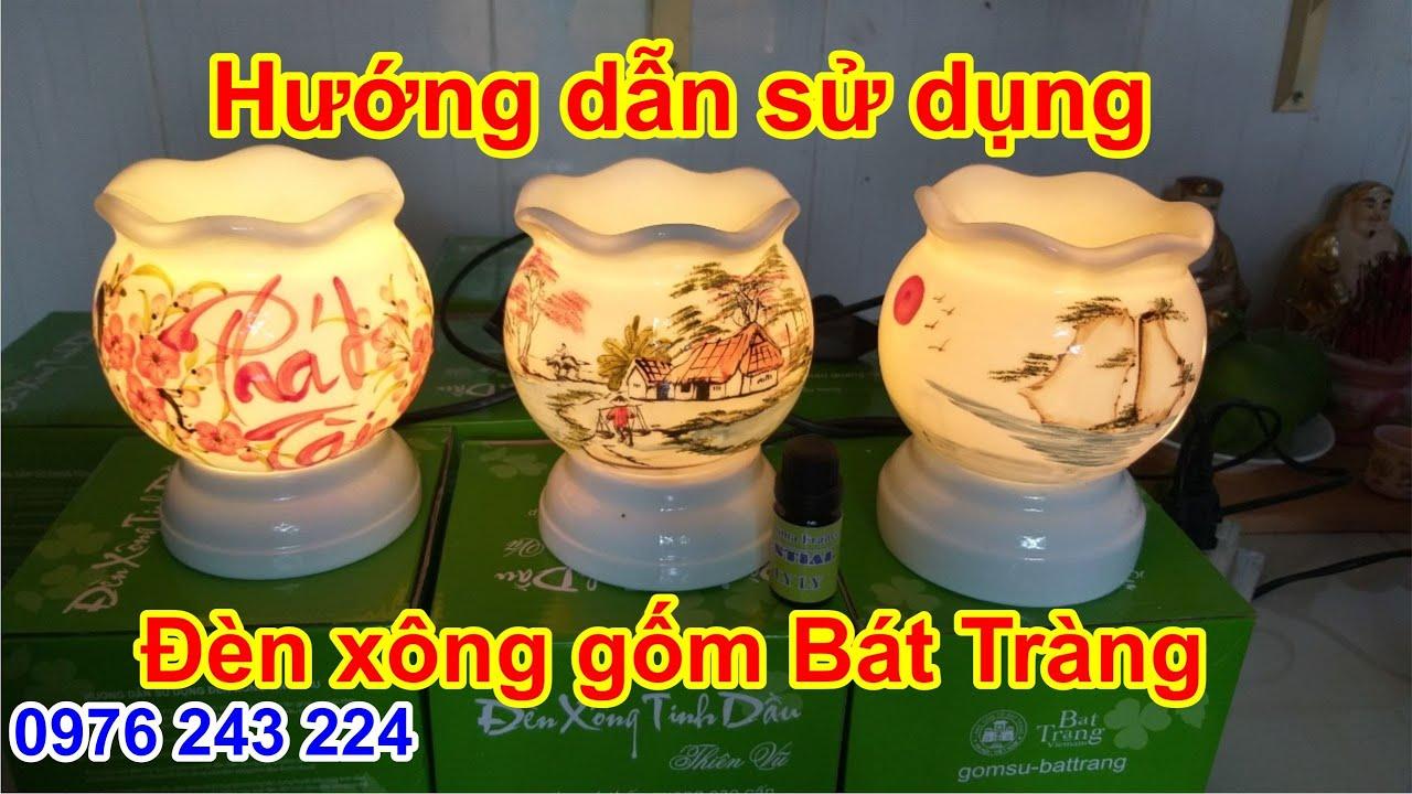 Đèn xông gốm Bát Tràng hàng Việt Nam chất lượng cao