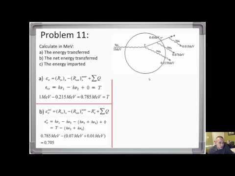 MedPhys - Kerma, Collision Kerma and Absorbed Dose Part 2