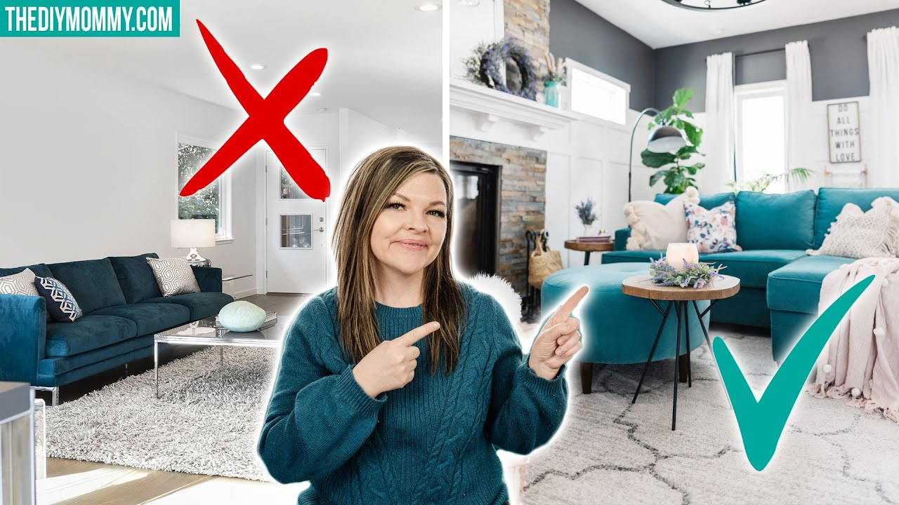 7 HOME DECORATING MISTAKES you're probably making & how to fix them!