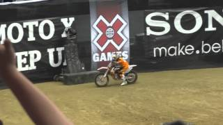 X Games 2012 - Moto X - Step Up - Ronnie Renner jumps 47 ft