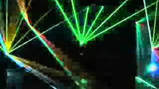 smooth criminal laser show
