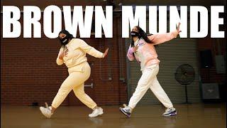 BROWN MUNDE | Bhangra Funk Dance | Shivani Bhagwan Chaya Kumar | AP Dhillon, Gurinder Gill