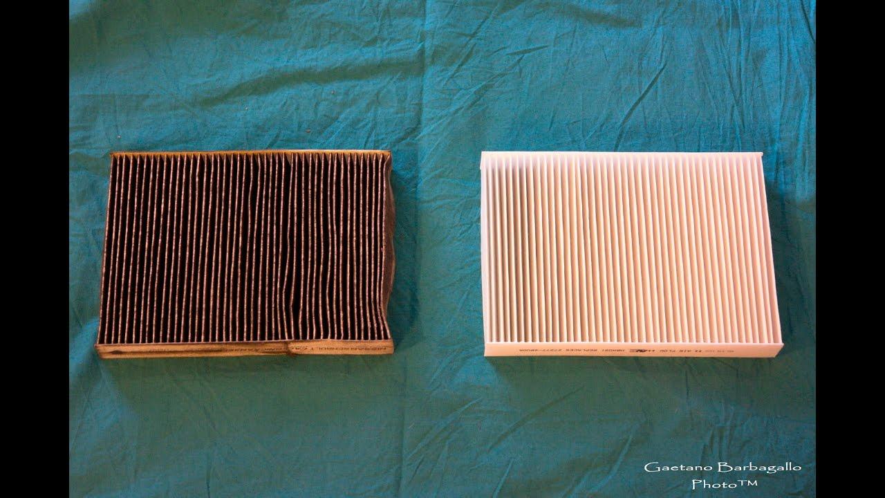 Sostituzione filtro aria abitacolo nissan qashqai 2014 j11 for Filtro aria cabina 2016 nissan murano