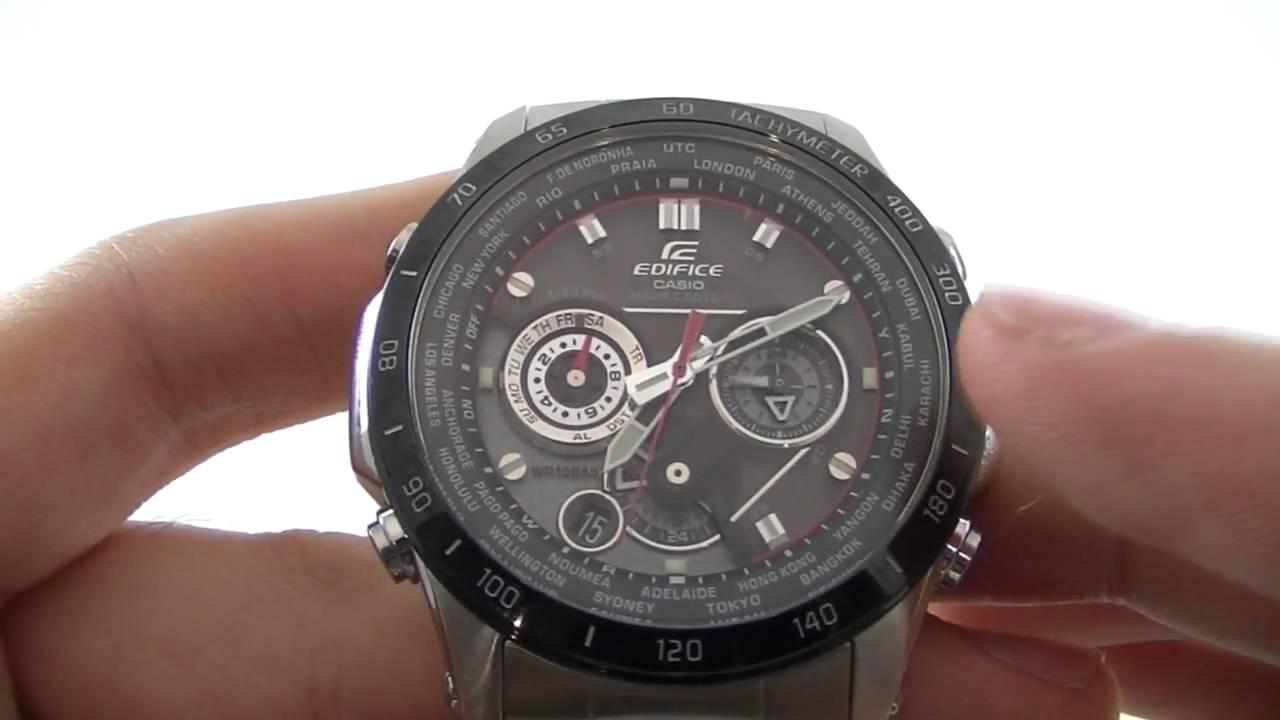 men s casio edifice wave ceptor chronograph watch eqw m1000db 1aer rh youtube com
