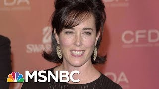 Designer Kate Spade Found Dead In Apparent Suicide | Craig Melvin | MSNBC thumbnail