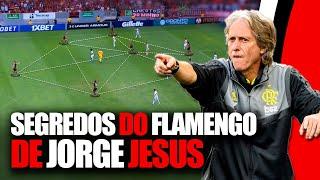 Segredos do Flamengo de Jorge Jesus (Análise Tática Completa)