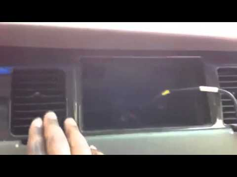 How to install DDin radio in Lincoln Towncar vid1 - YouTube