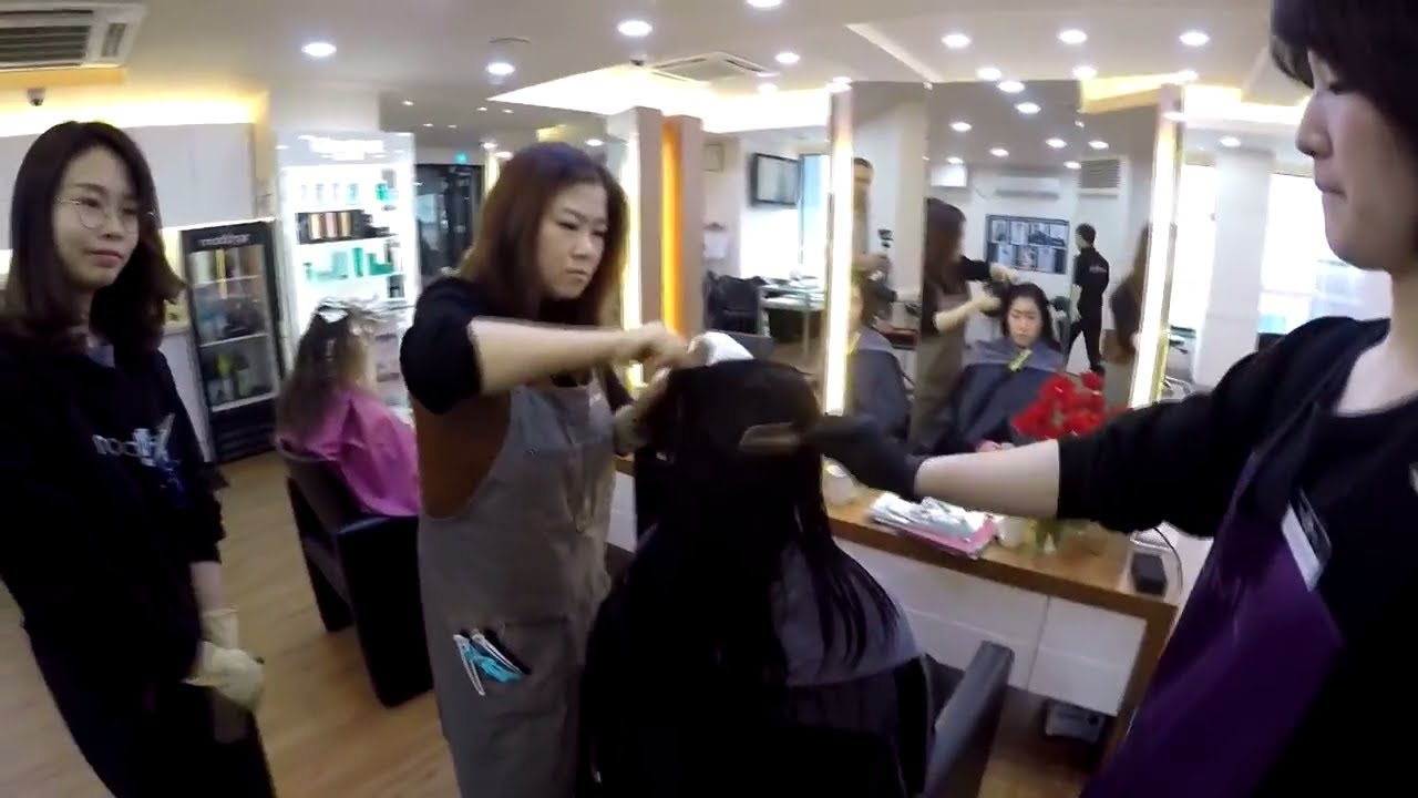 Undo straight perm - Magic Straight Perm In Korea