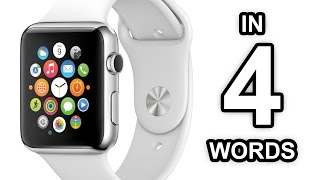THE APPLE WATCH in 4 words (YIAY #31)
