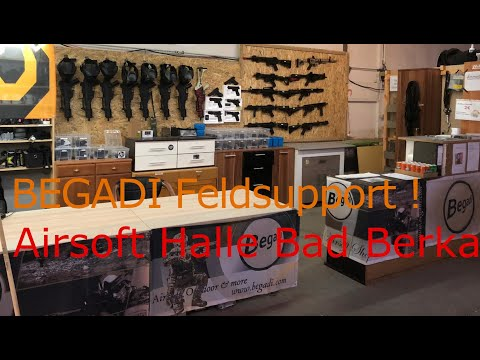 BEGADI Feldsupport Airsoft Halle Bad Berka