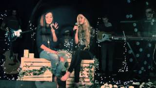 "Megan and Liz ""Karma's Coming Back For Me"" Acoustic Tour Version Thumbnail"
