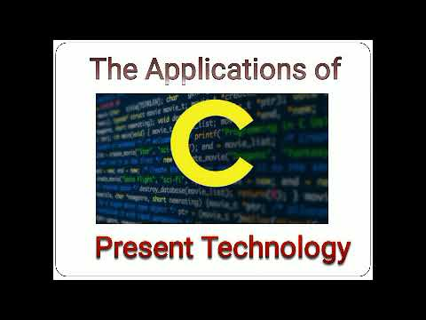 Applications Of C In Present Technology