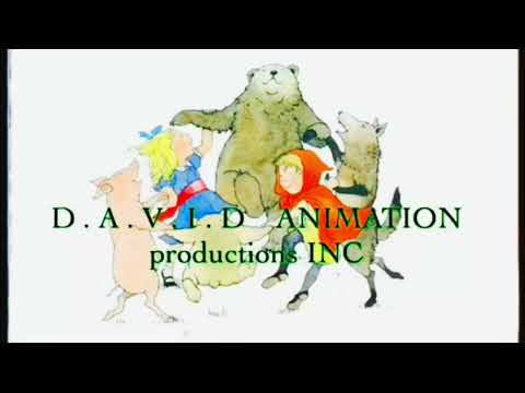 David animation productions inc ( logo history ) 1993  -  2018