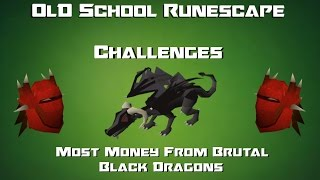 OSRS Challenges: Most Money From Brutal Black Dragons - Runescape 2007