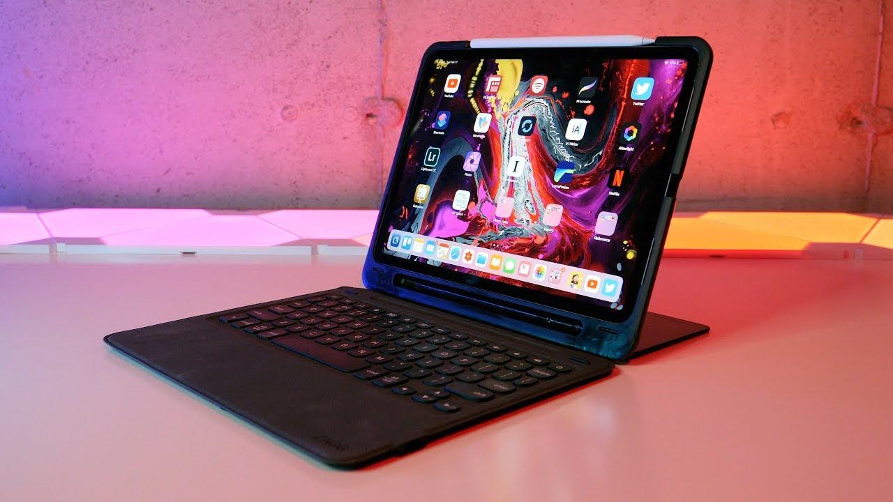 6201b9ce75a Zagg Slim Book Go iPad Pro Keyboard Review (Apple Smart Keyboard Folio  Keyboard Alternative)