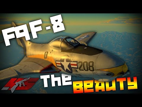 ▶ War Thunder: The F9f-8 Cougar! The Beauty!