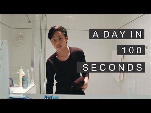 A Day in 100 Seconds | Australian Exchange Student