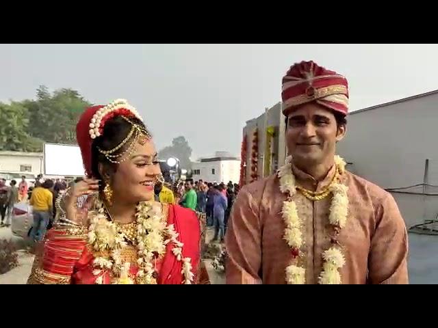 Lucknow mein Bhojpuri Khalnayak Ayaz Khan Ne Tanushree se Rachai Shahi Andaaz Mein shaadi