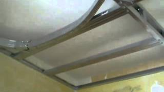 Видеоуроки по ремонту квартир.  Монтаж потолков из гипсокартона