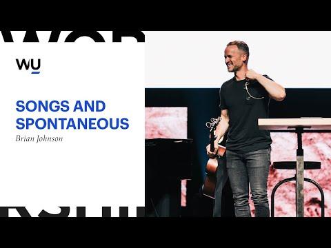 "WorshipU // Brian Johnson ""Songs and Spontaneous"""