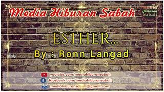 Ronn Langad - Esther   Karaoke Minus One + Lyrics HD