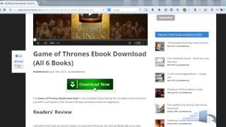 Game of Thrones Book Download PDF Clash of Kings - FREE