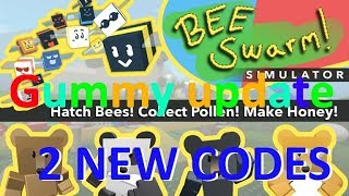 [GUMMY UPDATE] 2 New Codes | Bee Swarm Simulator | Roblox